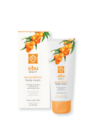 The sibu body cream gives you everything for a sparkling skin