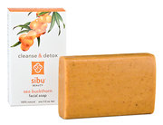 Sibu Beauty - sea buckthorn facial soap making your face spick