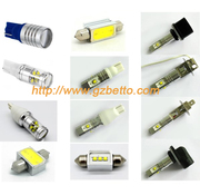 Wholesale high power Car LED bulbs T10 1156 1157 3156 3157 all fog lamps etc